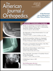 American Journal of Orthopedics